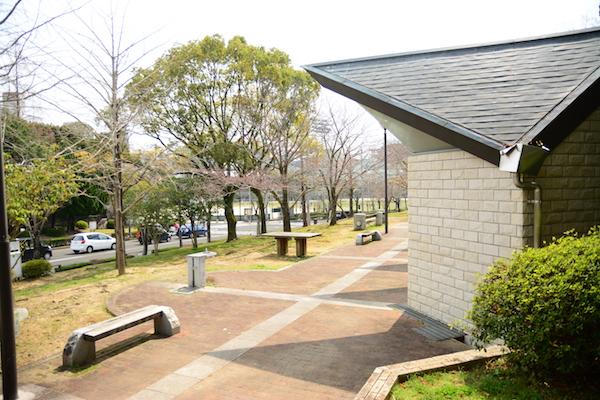 名切町の中央公園