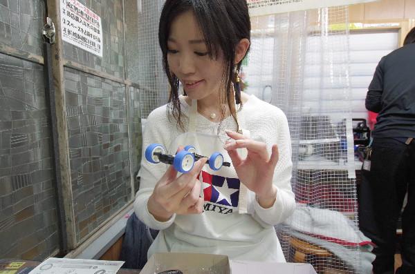 ミニ四駆女子 ミニ四駆を作ろう編 25