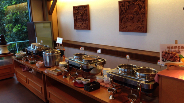 弓張の丘ホテル スープ