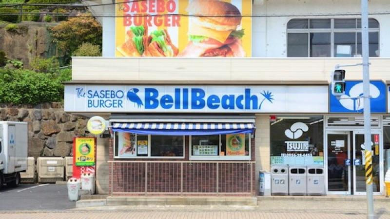 佐世保バーガー ベルビーチ パールシー店の外観