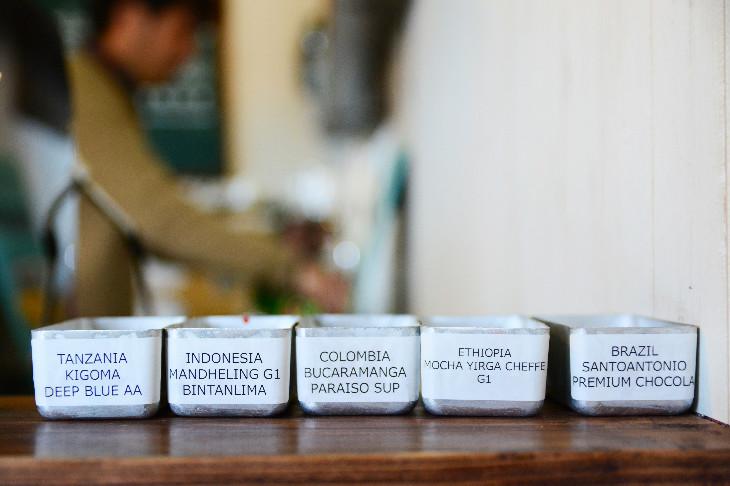 RINOAMICOFFEE豆の種類写真