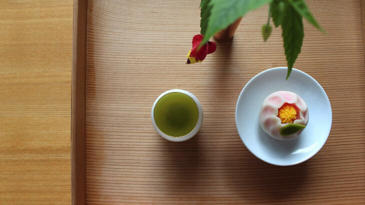 嬉野茶とお菓子1