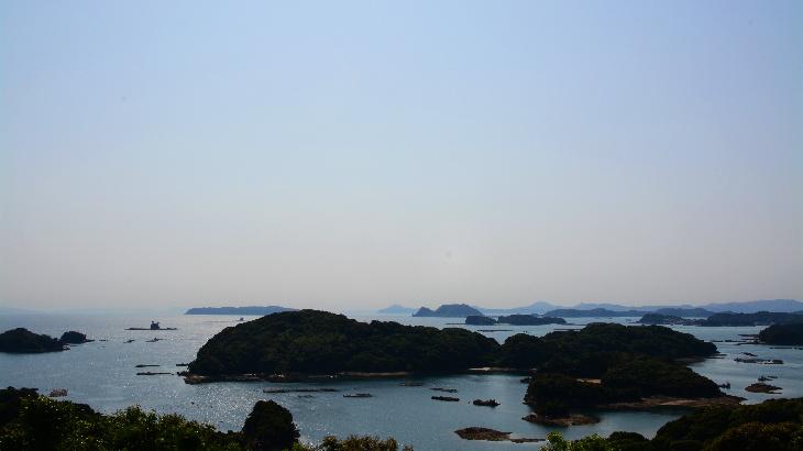 船越展望所から見える九十九島