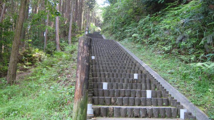 花高の階段