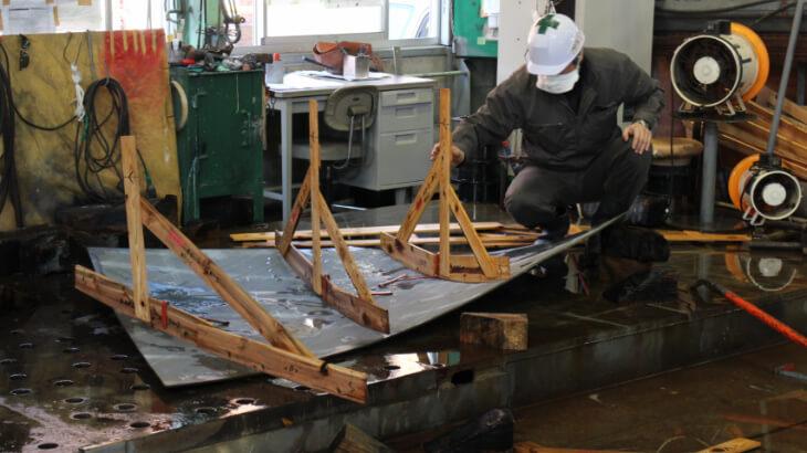 前畑造船作業風景1