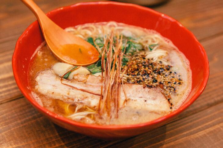 情熱ゴリラのあら炊き拉麺4