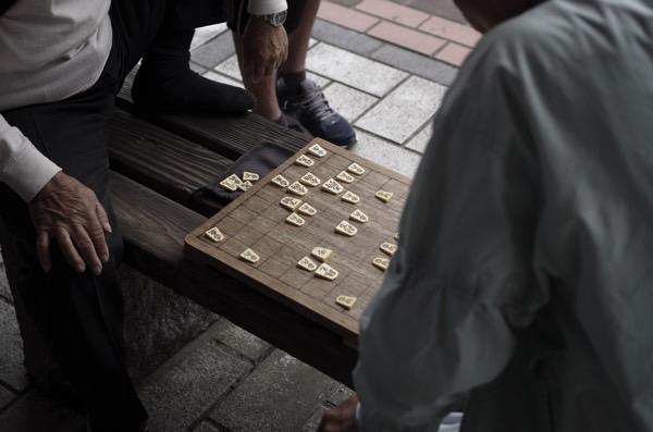 佐世保 松浦公園 将棋2
