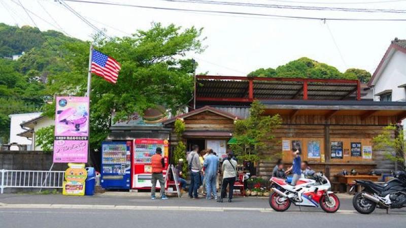 佐世保バーガー Stamina本舗 Kaya 本店の外観