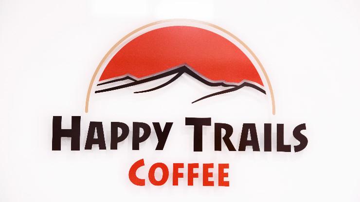 ハッピートレイルズコーヒーのロゴ
