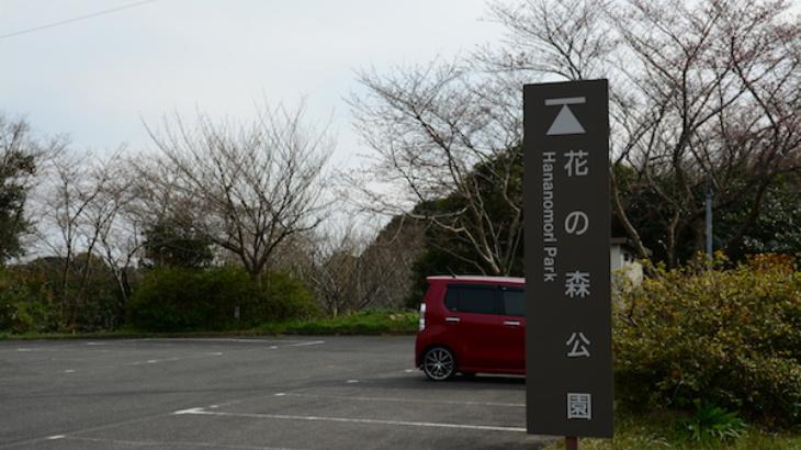 花の森公園入口