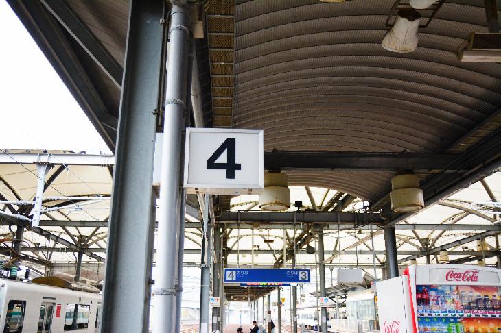 【サセモン】佐世保駅ホーム4番線のりば