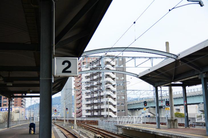 【サセモン】佐世保駅ホーム2番線のりば