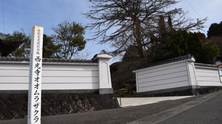 西光寺の入口
