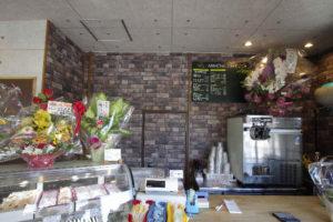 アリミツカフェの店内