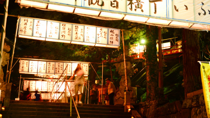 四萬六千日祭参道階段