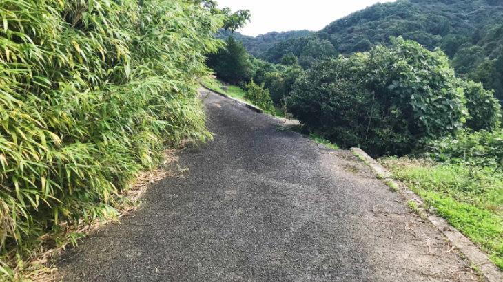 鬼塚古墳への道2