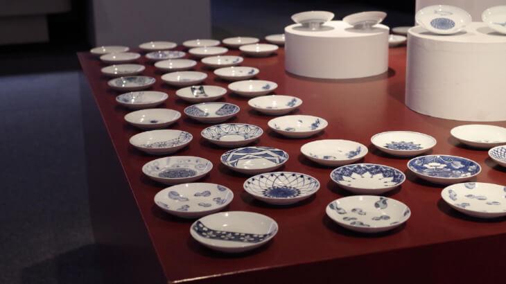 三川内焼豆皿展
