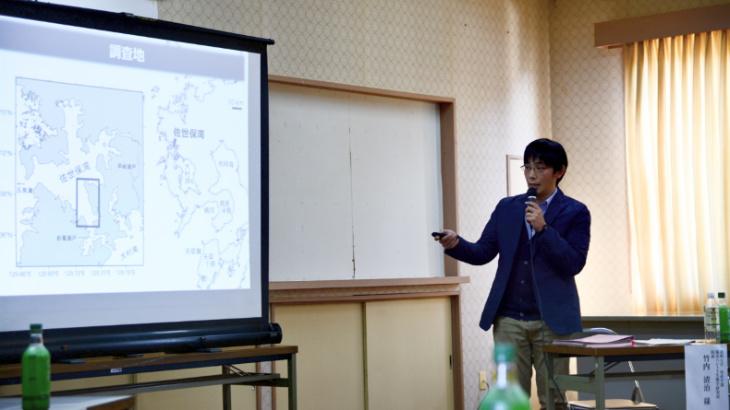長崎大学水産学部海洋ベントス生態研究所竹内助教