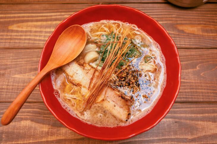 情熱ゴリラのあら炊き拉麺5