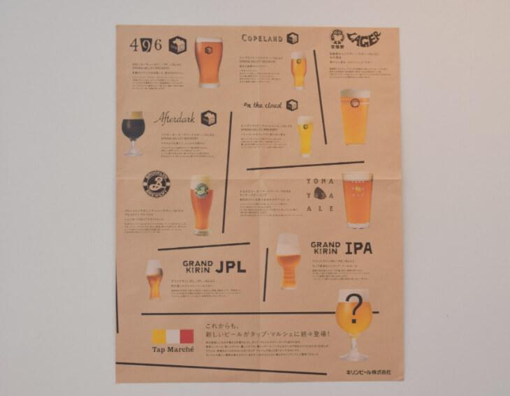 クラフトビールポスター