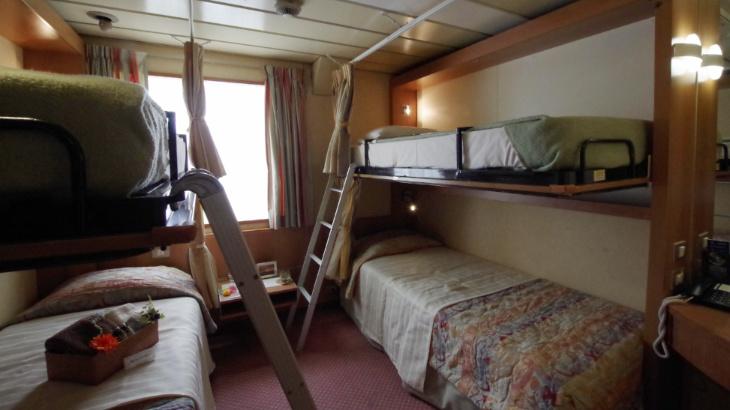 ピースボート 4人部屋