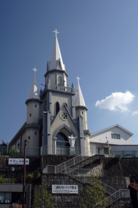 三浦町カトリック教会外観