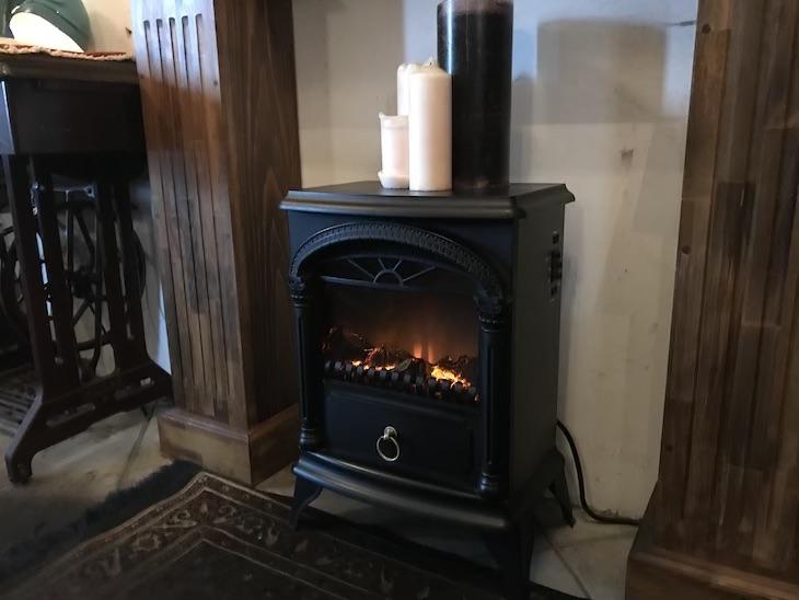 Cafe.5暖炉