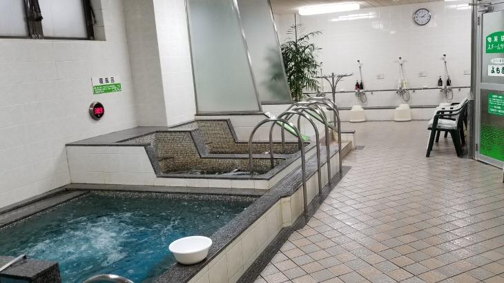 佐世保サウナサンの浴場