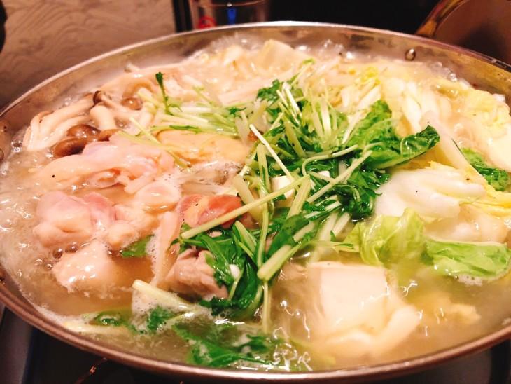 かこみ庵鶏塩鍋