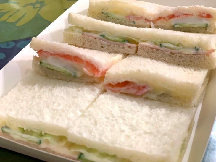 玉屋ラビアンローズサンドイッチ