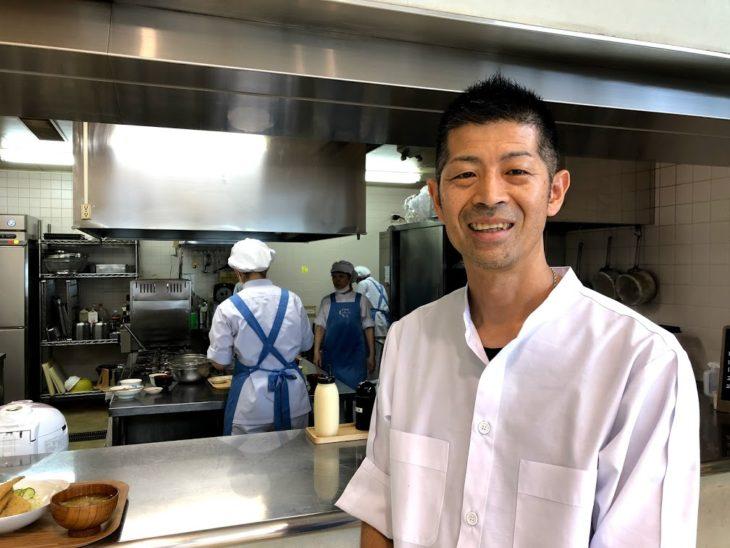 もったいない食堂店長の鈴木さん