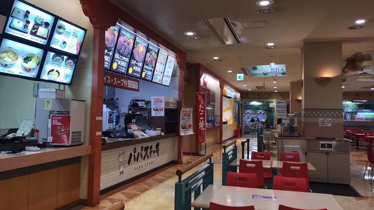 パパステーキ イオン大塔店