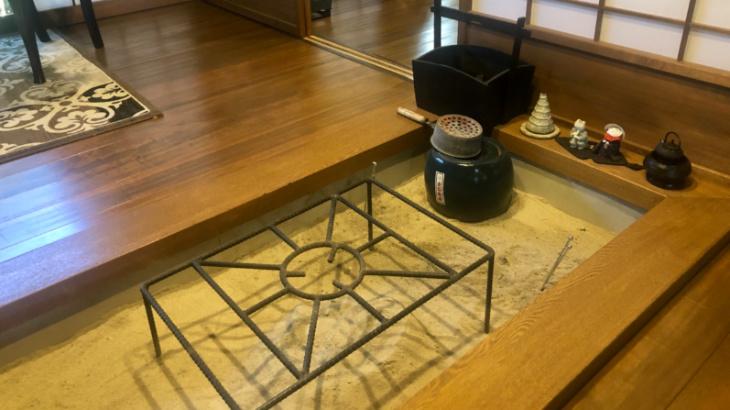 喫茶もみの華 囲炉裏