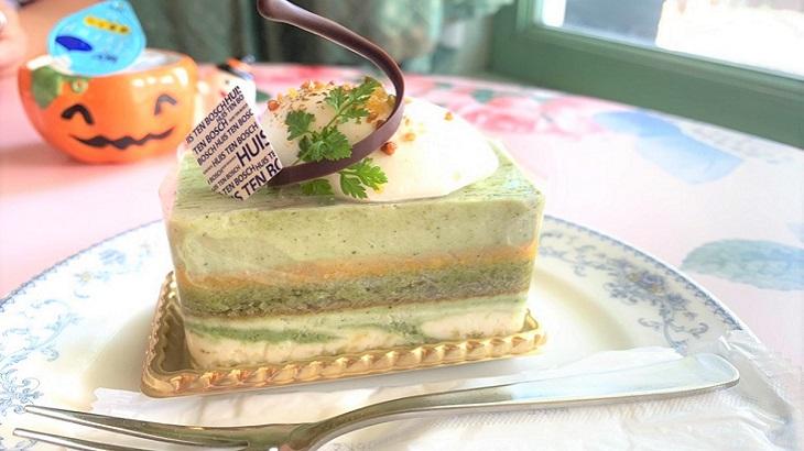 お茶目なケーキ