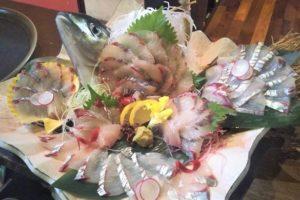和食ダイニング橘川の鮮魚の活け造り