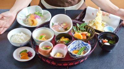 日本料理桜川のランチ