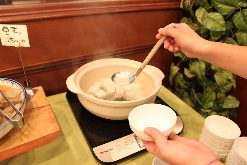 マリナホリデイの湯豆腐