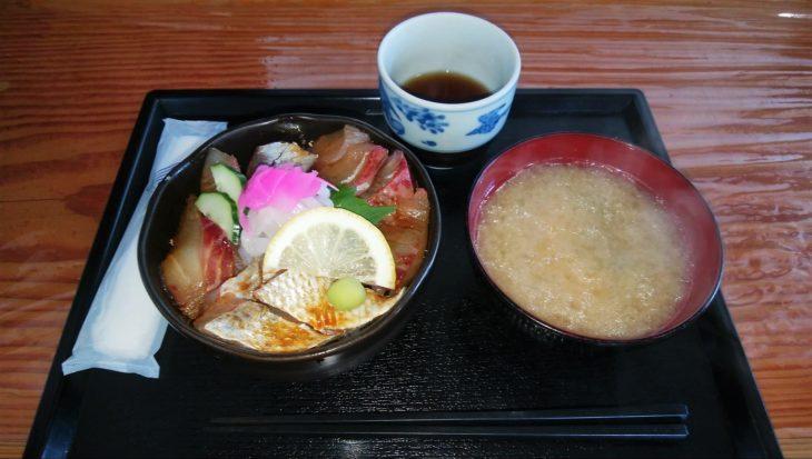 平戸旬鮮館の海鮮丼
