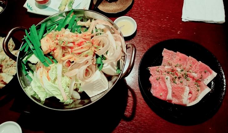 禄 キムチ鍋