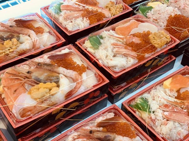 北海道の海の幸弁当