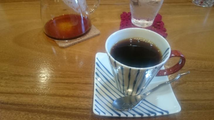 陽だまりカフェのコーヒー