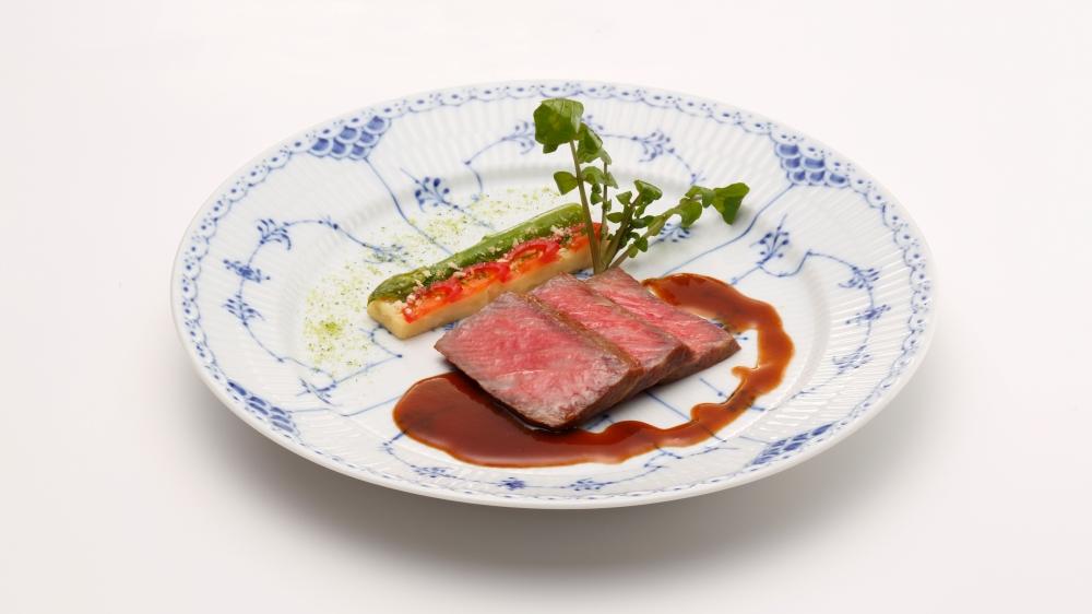 ホテルヨーロッパフルコース メイン料理