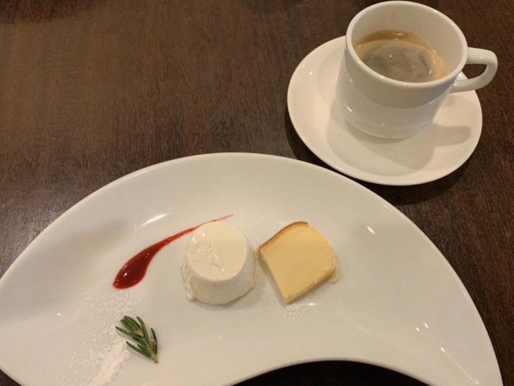 クッチーナクオーレのデザート
