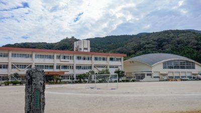 世知原中学校 校舎