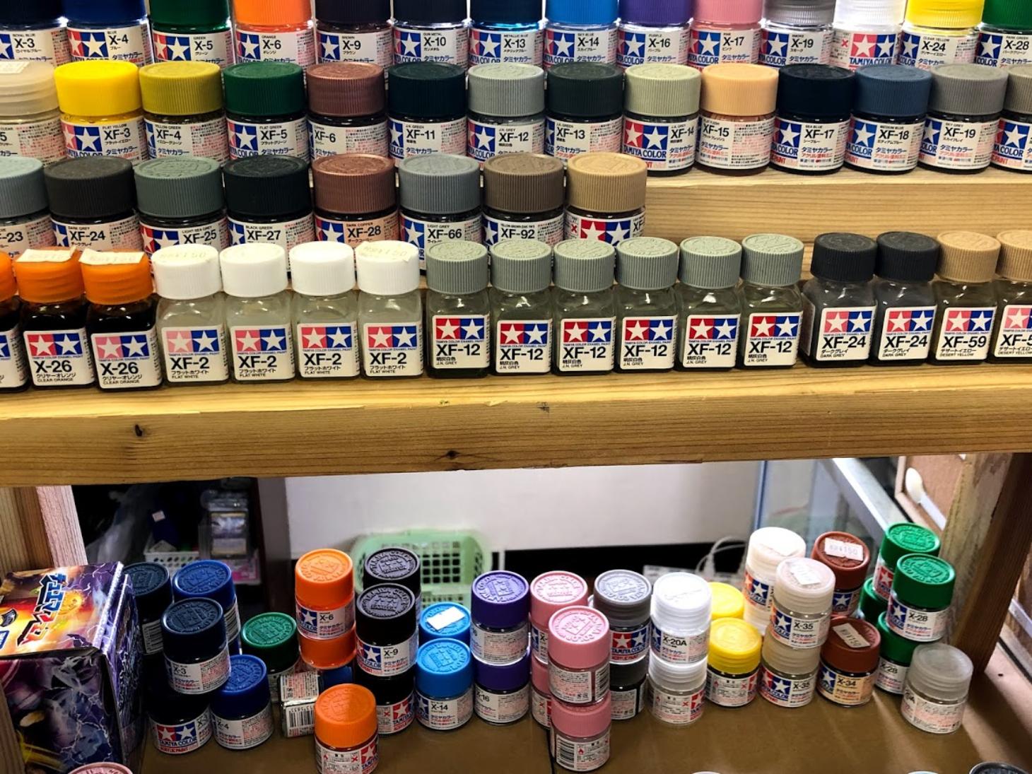 プラモ用塗料