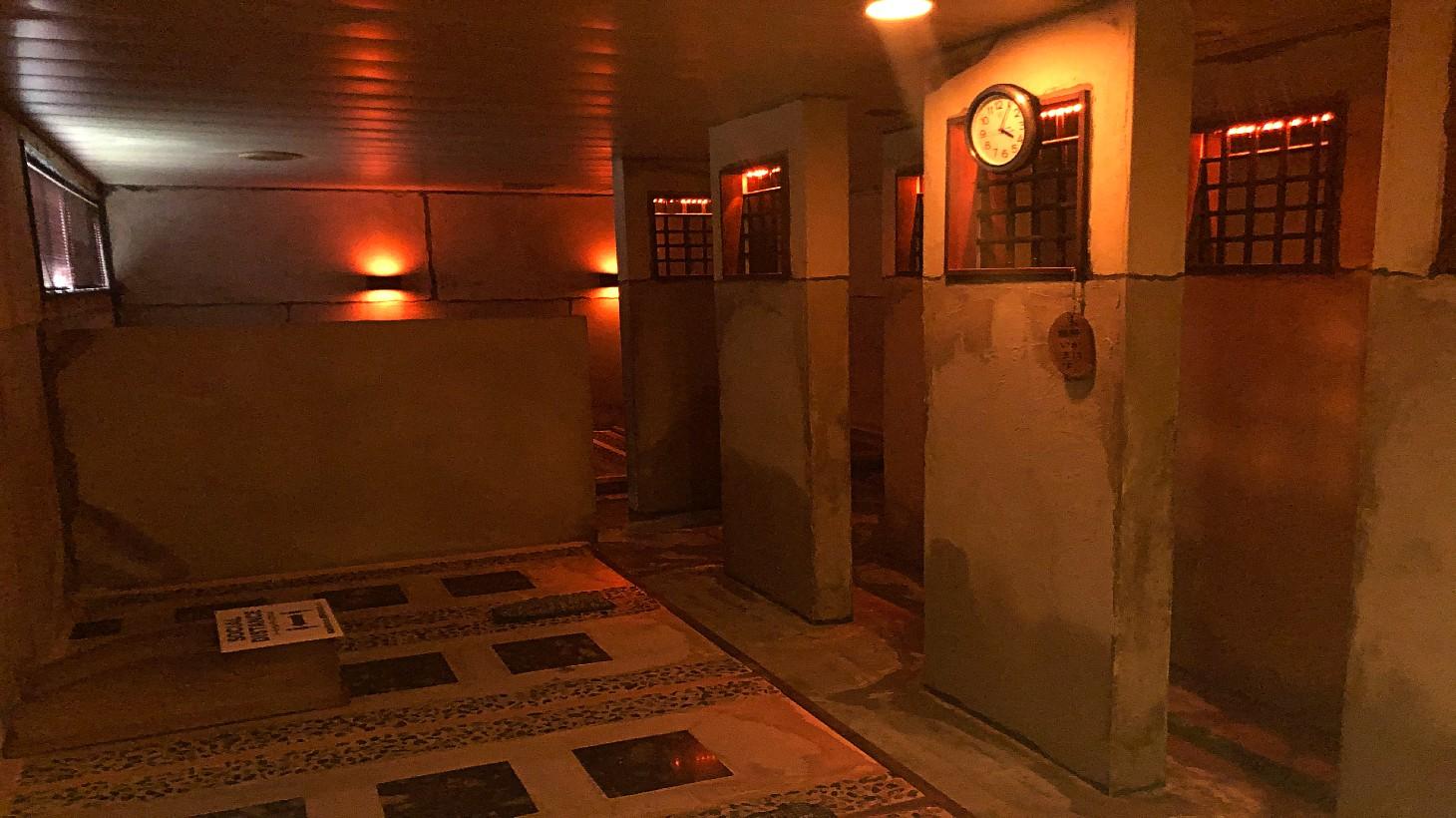 蘇生の癒 岩盤浴室