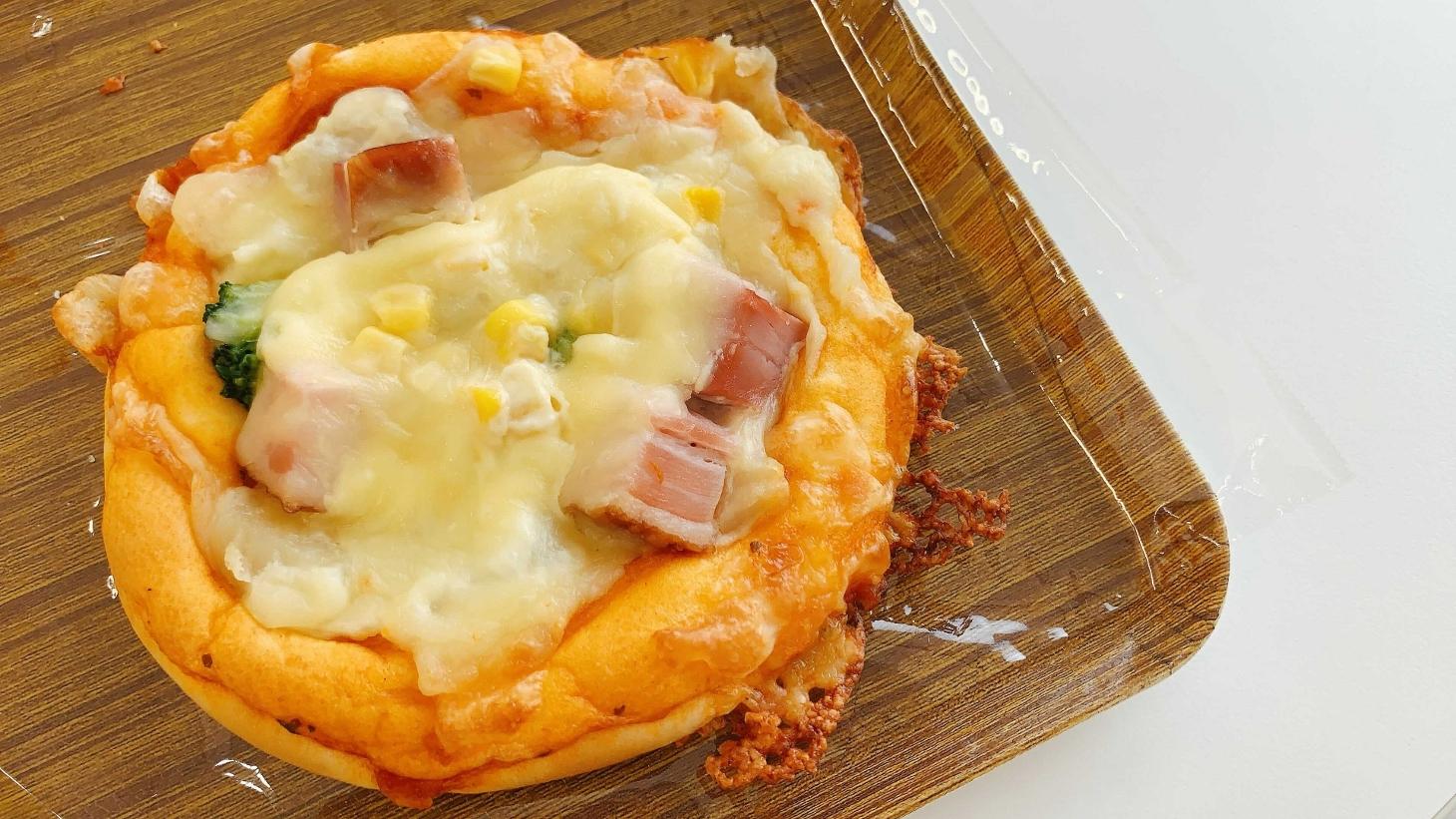 ふくパンポテトピザ