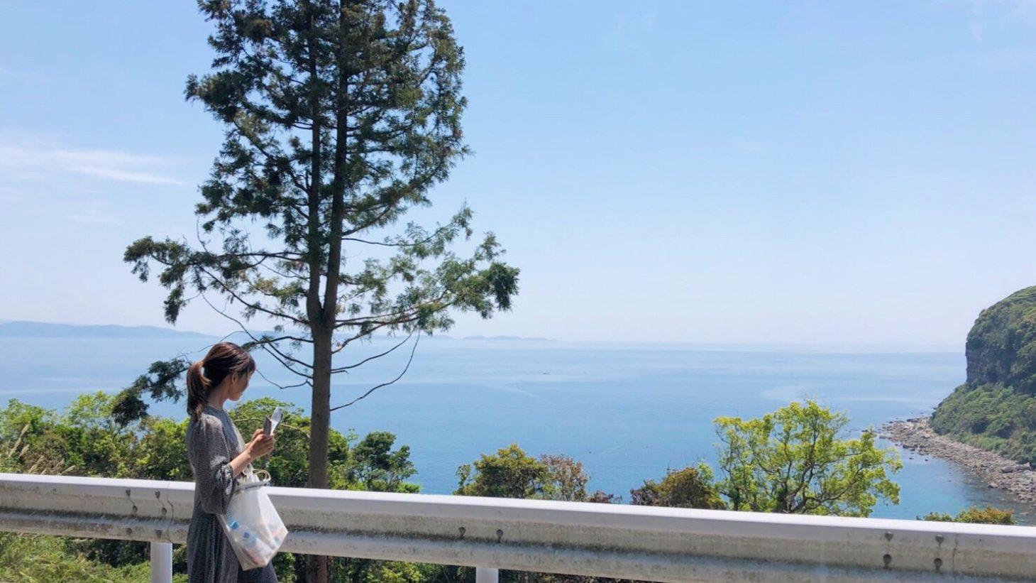 黒島の海と空
