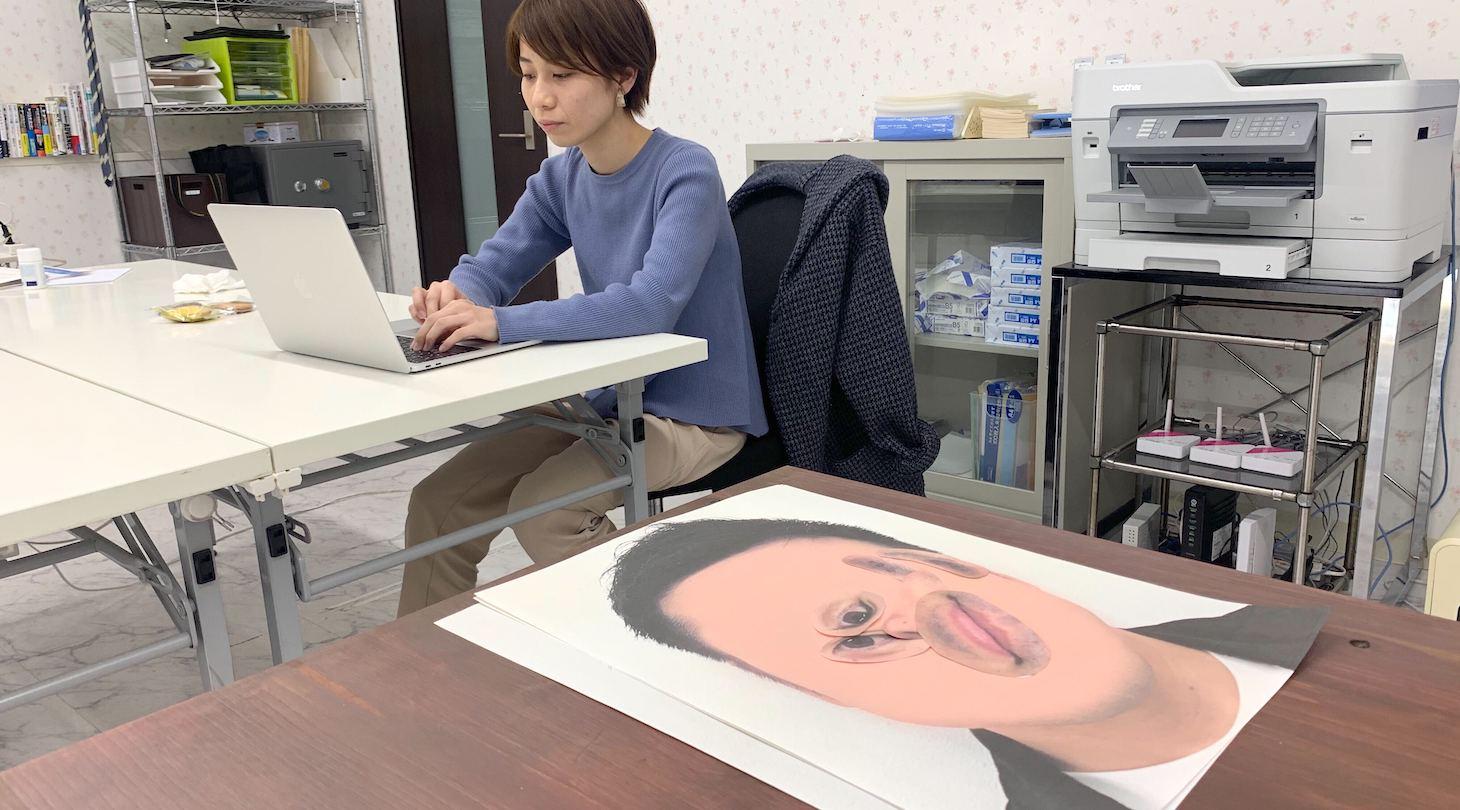 飽きたので机の上に雑に放置している写真