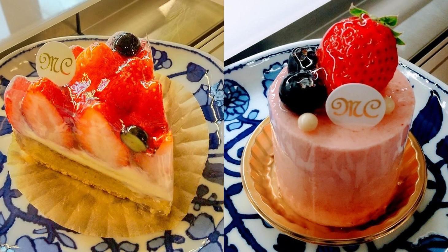 maco 苺のケーキ